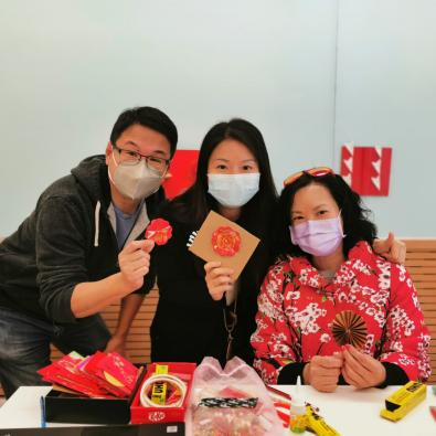 Parent-child Workshops for Chinese New Year