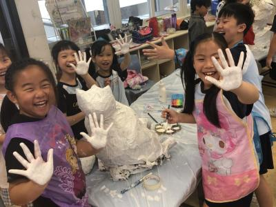 Paper mache - which animal are we making?