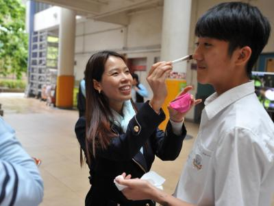 Student tried whitening product made from fungi
