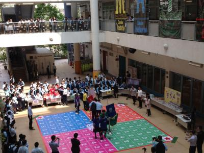 Mathematics Week Activities: Inter-chamber competition
