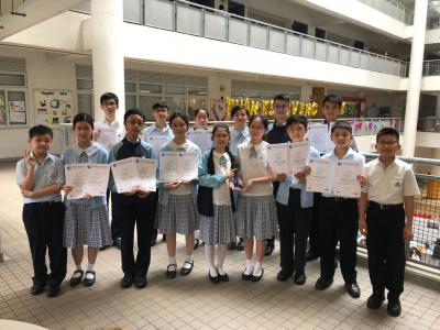World Class Test Awardees in Mathematics & Problem-solving