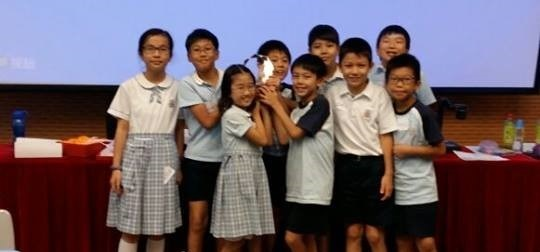 Hong Kong Battle of the Books (Modified Primary) winners 2014-15