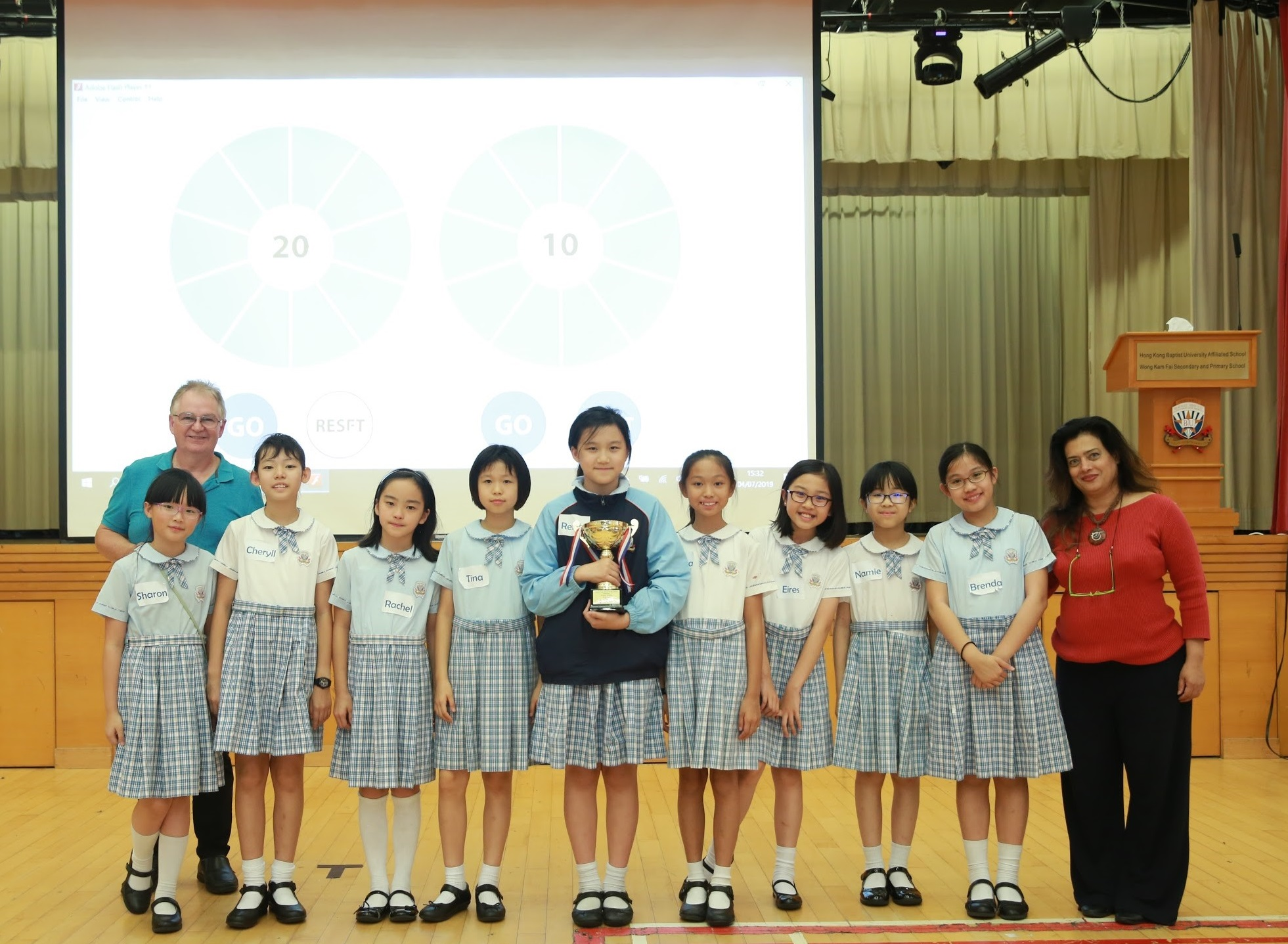 Hong Kong Battle of the Books (Modified Primary) winners 2018-19